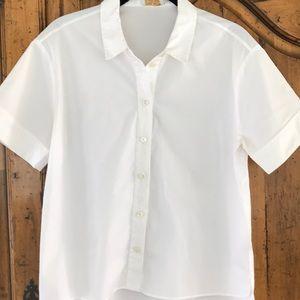 kate spade white blouse